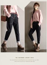 江苏扬州哪里有最便宜牛仔裤批发特卖女牛仔裤尾货厂家直销几元处理牛仔裤批发图片