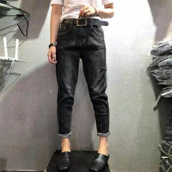 牛仔裤时尚阔腿工厂