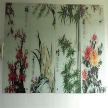 背景墙uv平板打印机电视瓷砖背景墙uv喷绘机图片