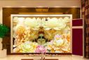 上海3D艺术壁画打印机瓷砖uv打印机高速度2513理光uv喷绘机