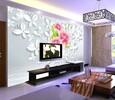 石家庄3d背景墙uv平板打印机理光G5瓷砖玻璃打印机厂家直销