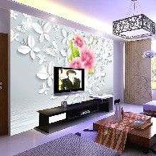 石家庄3d背景墙uv平板打印机理光G5瓷砖玻璃打印机厂家直销图片