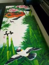安徽护墙板uv打印机竹木纤维集成墙板3duv打印机价格图片