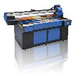 广州3d瓷砖背景墙uv平板打印机5d微晶复合万能打印机图片
