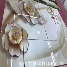 湖南3D瓷砖背景墙打印机多少钱一台?图片