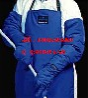 带背囊液氮防护服