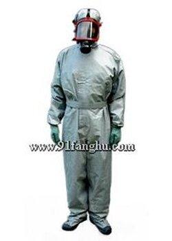 【军用防毒服(农用),连体胶布式防毒衣,军用防