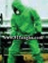 HONEYWELL霍尼韦尔PVC防护服,液体防护服,绿色PVC带衬化学防护服