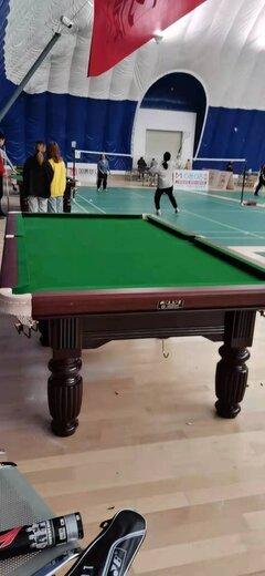 新華區康偉體育用品經營部臺球桌實體店展廳普通臺球桌批發