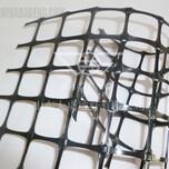 广东双向塑料土工格栅厂家直销TGSG双向塑料30KN图片