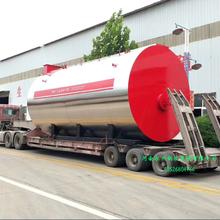 WNS卧式全湿背三回程蒸汽锅炉超低氮燃气锅炉4吨蒸汽锅炉价格