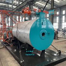 集装箱热水锅炉2吨撬装燃气锅炉一体式撬装热水锅炉