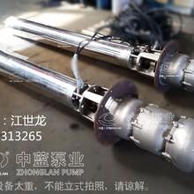天津中蓝厂家150QJ不锈钢深井潜水泵