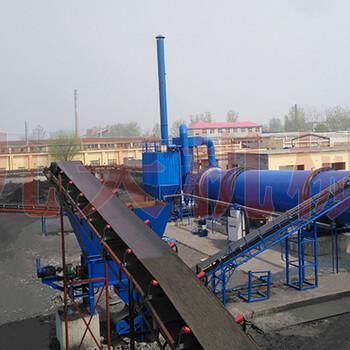 日烘干1200吨原煤烘干机,热源选配合适持续生产-郑州九天