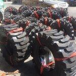 铲车轮胎23.5-16半实心轮胎23.5-16钢丝矿山花纹轮胎