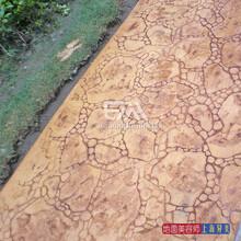北京彩色膜压地坪全国材料施工,厂家促销,别墅庭院铺装新品图片
