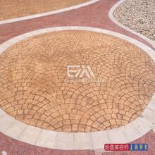 北京彩色模压混凝土全国材料施工,厂家促销图片