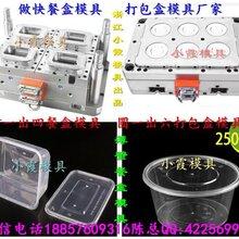 一次性便当盒塑胶模具,一次性注塑密封盒模具,一次性PP保鲜碗模具