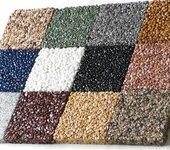 真石丽露骨料透水地坪园林应用合肥透水露骨料包工包料
