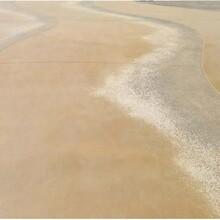 甘肃天水度假村彩色砾石聚合物仿石地坪图片