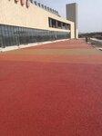供应张家口露骨料透水地坪阳原透水混凝土材料与施工