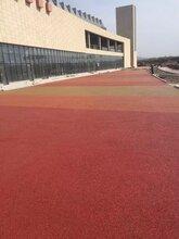 廣西百色透水地坪價格室外體育館透水混凝土路面施工方案圖片