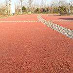 江西南昌透水混凝土材料沥青改色露骨料透水一体化公司
