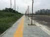 滁州市政路面翻新仿磚壓花路面代替水泥壓花地坪造價低