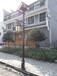 甘肃陇南宕昌县沙湾镇安装的4米太阳能庭院灯价格便宜江苏开元供应