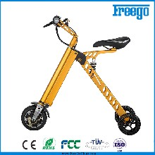 Freego可折叠三轮电动车双轮思维电动平衡车11KG代步车