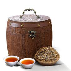 茶叶桶,散茶木桶,木制茶叶桶