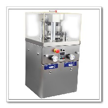 旋转式多冲中药粉末压片机高效大产量不锈钢压片机工厂直销便宜好用