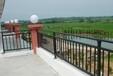 唐山锌钢阳台栏杆,唐山仿木纹楼梯扶手,唐山锌合金围栏,喷塑百叶空调护栏