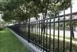 上海锌钢围墙护栏,上海组装围栏,喷塑草坪栅栏,仿竹篱笆护栏
