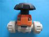 瑞士GFtyp314d50DN40PP手动隔膜阀承插焊连接