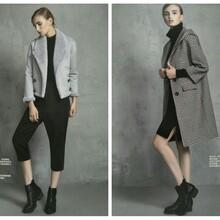 时髦修身大衣迪丝雅女装品牌折扣尾货品牌女装货源混批分份