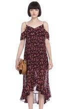 意大利品牌折扣女装欧时力18年时尚连衣裙批发