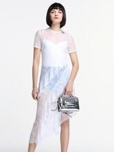 欧时力品牌折扣女装剪标简约夏装正品货源批发