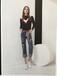 羽沙国际正品专柜欧韩版女装货源品牌折扣批发