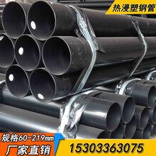 涂塑钢管涂塑复合钢管涂塑钢管厂家直销2018内外涂塑钢管价格图片