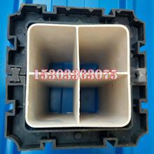 河北厂家直销PVC格栅管管枕107方管枕通信管管卡图片