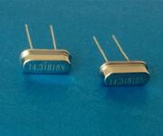 插件晶振,晶振14.31818MHz图片