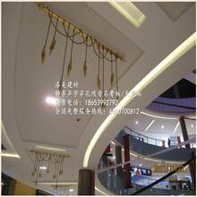 武汉万达广场汉街店吊顶材料穿孔石膏板图片