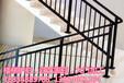 铁艺整体楼梯护栏阳台护栏飘窗护栏等加工设计免费安装