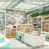 山西太原專業設計加工麵包展櫃中島櫃邊櫃西點櫃包裝等