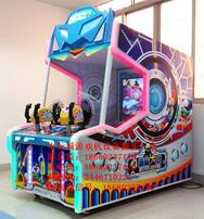 星际大战射球机,射击类游戏机,双人互动游戏机,儿童模拟射击游戏机图片