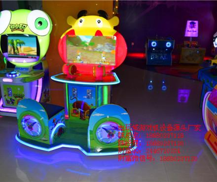 销售批发儿童亲子互动游戏机-儿童益智游戏机台-西部牛仔套牛游艺机