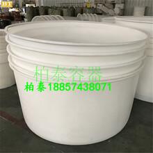 滚塑食品腌制桶,0.5吨腌菜桶,蔬菜运输桶图片