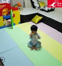 a推特儿童可折叠宝宝垫爬行垫游戏毯爬爬垫加厚环保婴儿客厅包邮