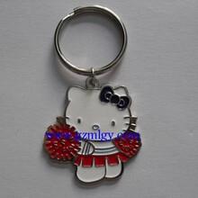 广州茗莉工厂定做时尚钥匙链l创意小礼品商务真皮汽车钥匙包图片